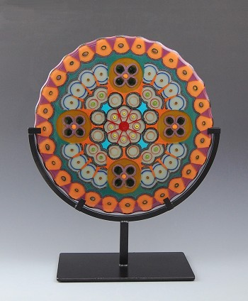 "Murrine Mosaic 22"" X 16"""