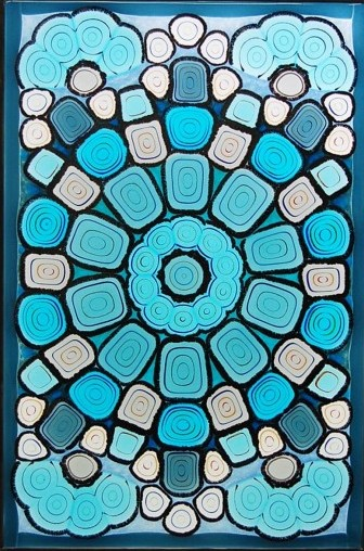 Fused Murrine Panel