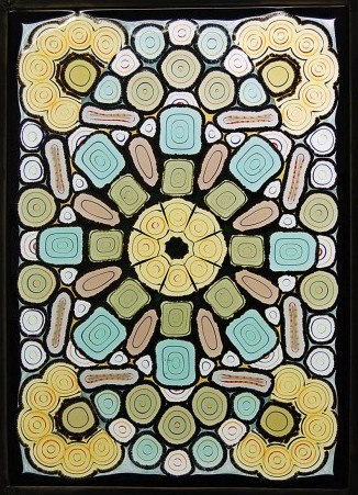 Fused Murrine Panel 3