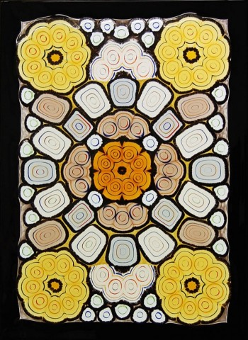 Fused Murrine Panel 4
